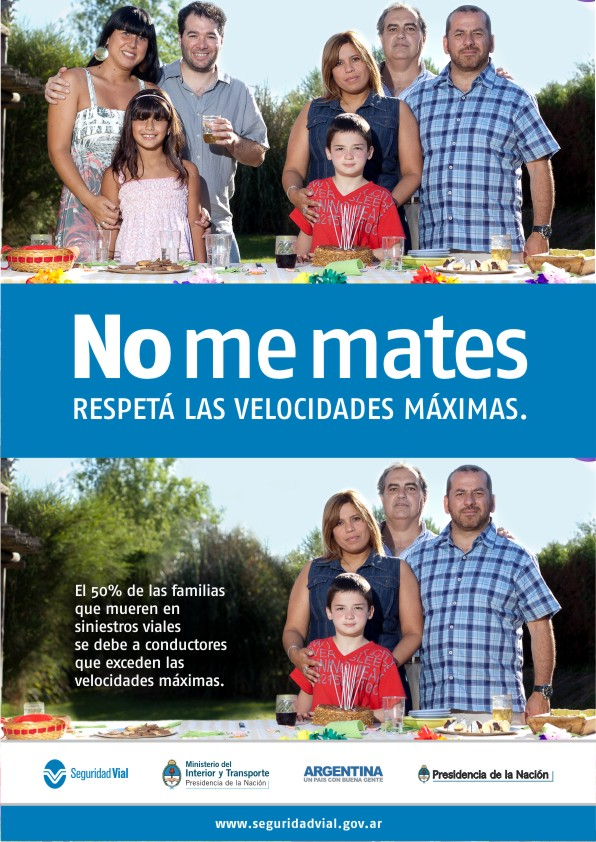 No me mates :: RESPETÁ LAS VELOCIDADES MÁXIMAS.